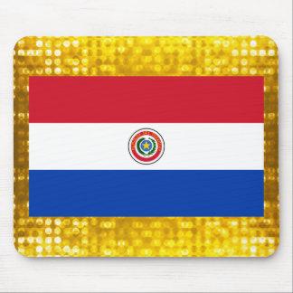 Bandera paraguaya oficial alfombrilla de ratón
