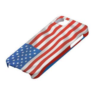Bandera patriótica de los E.E.U.U. iPhone 5 Case-Mate Cárcasas