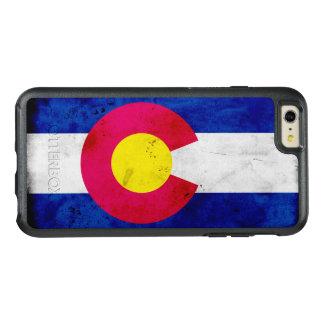 Bandera patriótica del estado de Colorado del Funda Otterbox Para iPhone 6/6s Plus