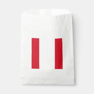 Bandera: Perú Bolsa De Papel
