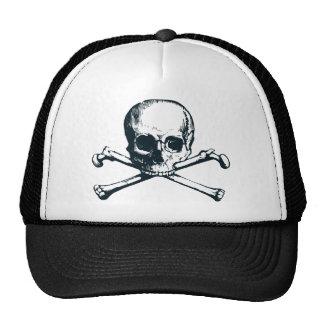 bandera pirata del cráneo gorras de camionero
