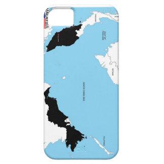 bandera política del mapa del país de Malasia iPhone 5 Case-Mate Cárcasas