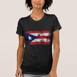 Bandera puertorriqueña del orgullo camiseta