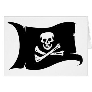Bandera que agita #4 Edward England Tarjeta De Felicitación