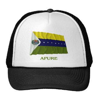Bandera que agita de Apure con nombre Gorra