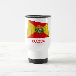 Bandera que agita de Aragua con nombre Taza