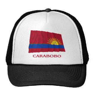 Bandera que agita de Carabobo con nombre Gorros Bordados