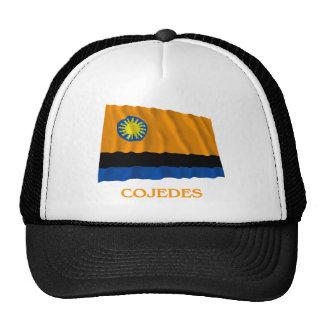 Bandera que agita de Cojedes con nombre Gorros Bordados