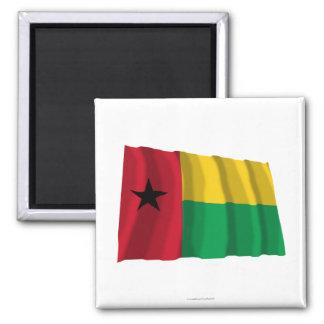 Bandera que agita de Guinea-Bissau Iman Para Frigorífico
