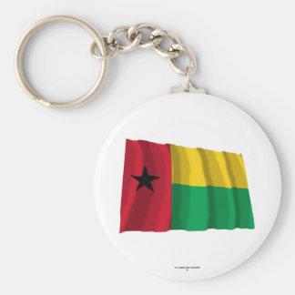 Bandera que agita de Guinea-Bissau Llaveros Personalizados