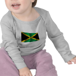 Bandera que agita de Jamaica Camisetas