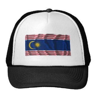 Bandera que agita de Kuala Lumpur Gorro