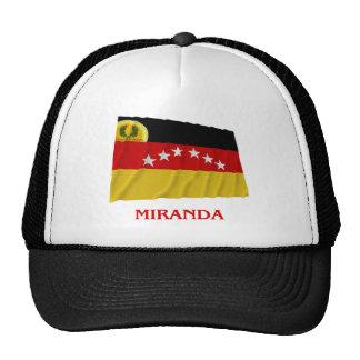 Bandera que agita de Miranda con nombre Gorro De Camionero