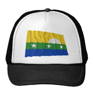 Bandera que agita de Nueva Esparta Gorro De Camionero