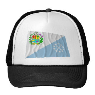 Bandera que agita de Sucre Gorra