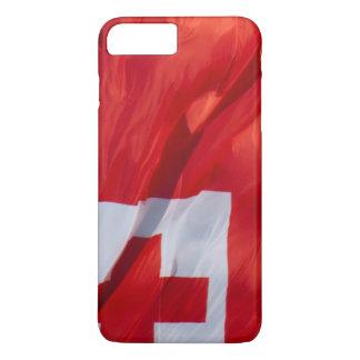 Bandera que agita de Tonga Funda iPhone 7 Plus