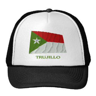 Bandera que agita de Trujillo con nombre Gorros