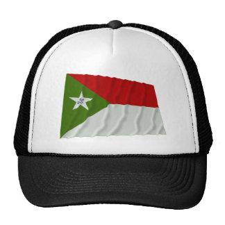 Bandera que agita de Trujillo Gorros Bordados