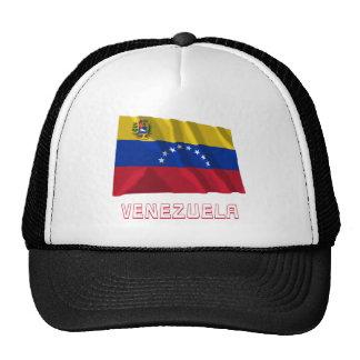 Bandera que agita de Venezuela con nombre Gorro