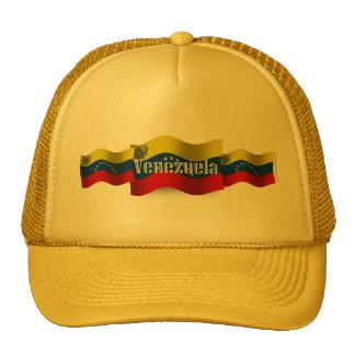 Bandera que agita de Venezuela Gorras