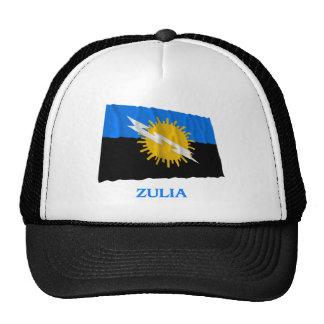 Bandera que agita de Zulia con nombre Gorros