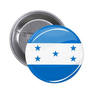 Bandera redonda brillante del Honduran Chapa Redonda 5 Cm