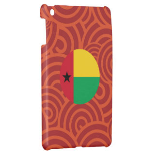 Bandera redonda de Guinea-Bissau