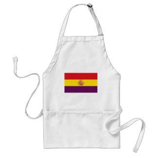 Bandera republicana española - Bandera República Delantal