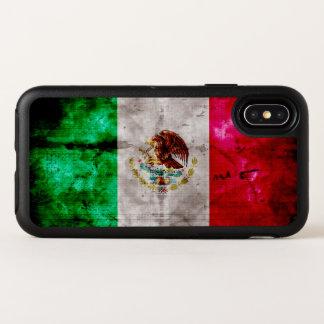 Bandera resistida de México del vintage