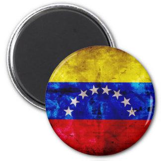 Bandera resistida de Venezuela Imán