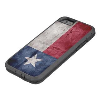 Bandera resistida del estado de Tejas del vintage Funda Tough Xtreme iPhone 6