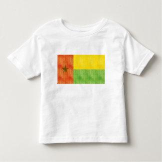 Bandera retra de Guinea-Bissau del vintage Camiseta