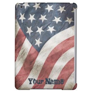 Bandera retra de los E.E.U.U. del viejo vintage de