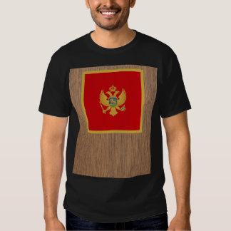 Bandera retra de Montenegro Camisas
