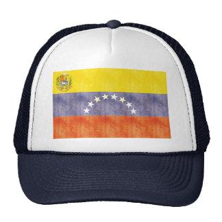 Bandera retra de Venezuela del vintage Gorra