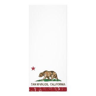 Bandera San Marcos del estado de California Invitación Personalizada