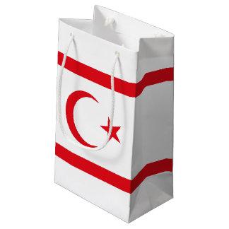 Bandera septentrional de Chipre Bolsa De Regalo Pequeña