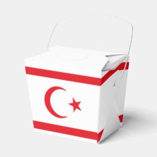 Bandera septentrional de Chipre Caja Para Regalos