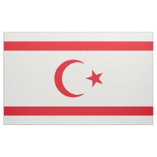 Bandera septentrional de Chipre Tela