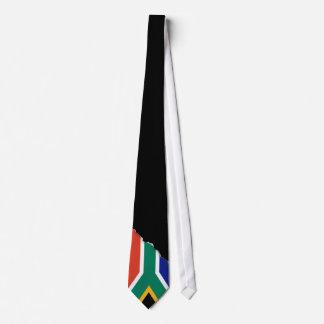 Bandera surafricana corbata personalizada