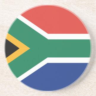 Bandera surafricana posavasos de arenisca