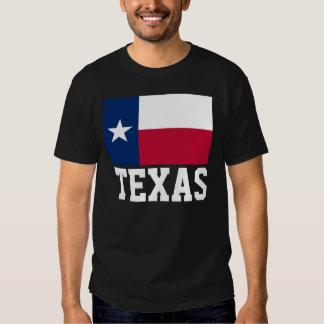 Bandera Tejas de Tejas Camisetas