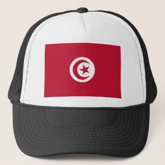 Bandera tunecina gorra de camionero