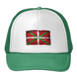 Bandera vasca apenada del estilo: Ikurriña, Gorras
