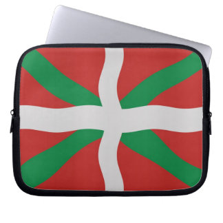 Bandera vasca funda para portátil