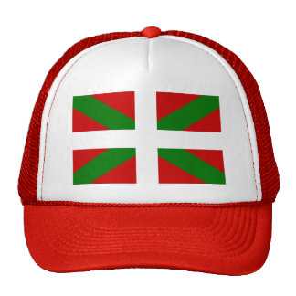 Bandera vasca gorra