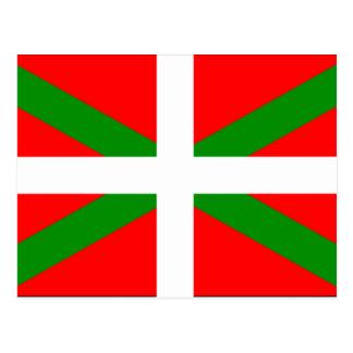 Bandera vasca postal