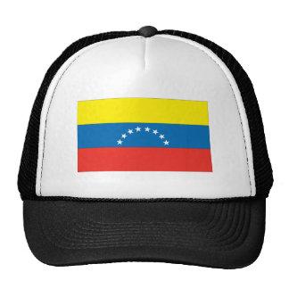 Bandera venezolana gorras de camionero