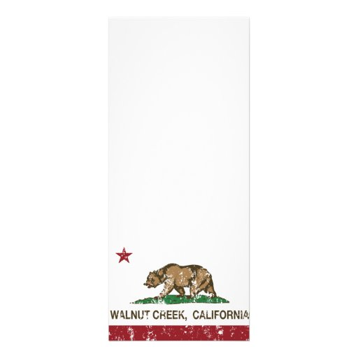 Bandera Walnut Creek del estado de California Comunicado