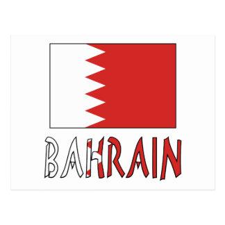 Bandera y Bahrein des Bahrein Postal